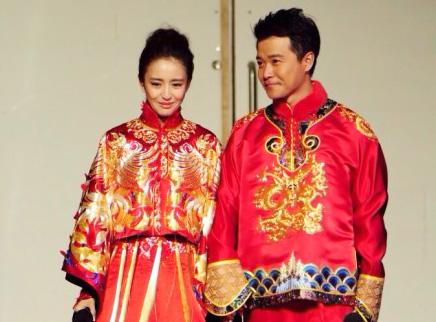 陈思成佟丽娅举办婚礼