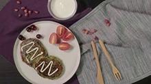 93期:菠菜虾皮煎饼