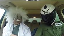 暴走汽车:科学家跨界测评 保时捷卡宴带你飞