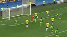 巴西0-0憾平10人南非
