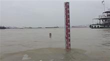 洞庭湖城陵矶站水位缓慢上涨