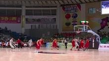郴州:国际青年男篮四国较劲 中国两胜一负屈居亚军