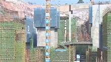 湘江欢乐城冰雪世界进入16米平台施工阶段