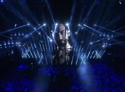 2016欧洲歌唱大赛半决赛第二场:西城男孩回忆杀被灭 高逼格舞美碾压同类