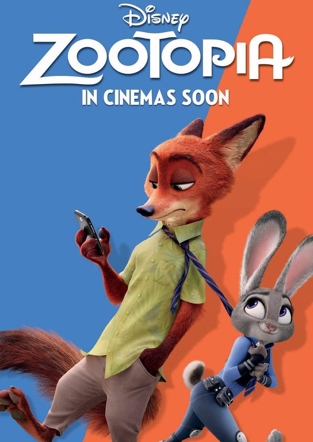 疯狂动物城 国语版-高清完整版在线观看和下载-电影