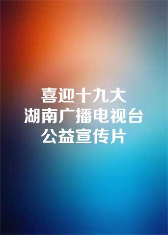 喜迎十九大湖南广播电视台公益宣传片