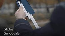 手机壳自带自拍杆 收放自如好方便