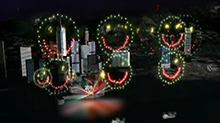 香港<B>维</B><B>多利亚</B>焰火表演 160个笑脸齐绽放