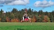 自制直升机
