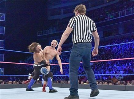 迪安很捣乱 AJ很愤怒