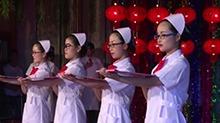 5·12国际护士节:龙山护士礼仪竞赛展风采