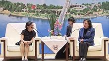 刘莲玉会见菲律宾议员考察团