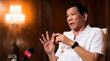 菲律宾总统谈南海问题 杜特尔特:我们会谈 我们会解决