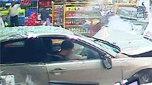 悉尼:小车冲进便利店