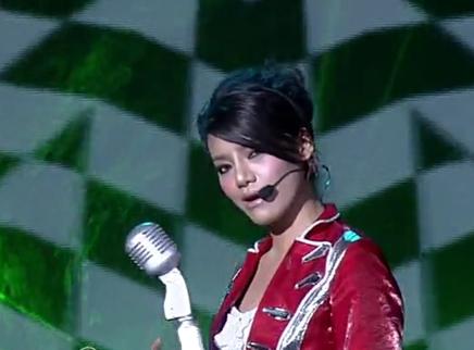 2009快乐女声全国总决赛决战之夜:舞者精灵江映蓉披荆斩棘勇夺冠