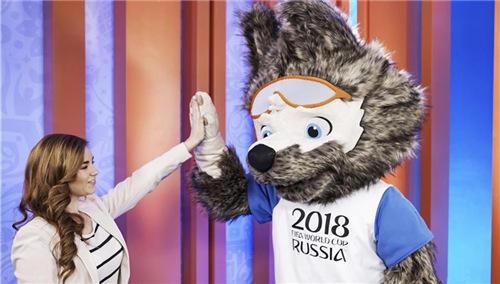西伯利亚狼当选世界杯吉祥物 中国企业拿下官方授权