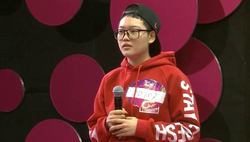 2016超级女声天津唱区海选:00107号刘心驰《维多利亚的秘密》