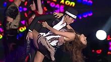 性感天后蔡妍与苏醒劲歌热舞互撩开始