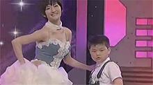 """快乐大本营20100612期:现场顶级婚纱秀 谢娜吴昕""""美透了"""""""