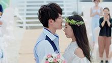 郭碧婷穿婚纱美出新高度 深蓝夫妇爱情全程回顾