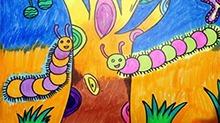 5068网儿童画第46期:毛毛虫