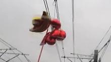上海:地铁电缆遭气球缠绕 早高峰延误
