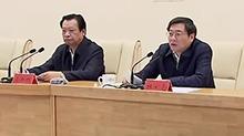 中央第六环境保护督察组进驻湖南 吴新雄杜家毫讲话 许达哲主持动员会