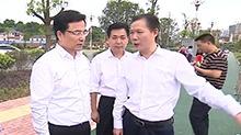 王少峰在怀化督导检查防汛抗旱工作