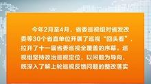 省委巡视组全面反馈十一届省委第一轮巡视情况