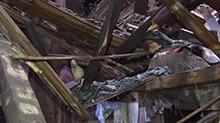 隆回:村支书深夜通知村民避灾 自家房屋被毁