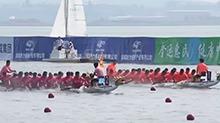 常德:全运会龙舟决赛进入最后角逐