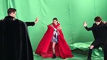 【影视情报员】《私立蜀山学园》路透 王一博陈钰琪对抗魔族