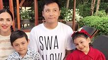 尴尬!刘烨教儿子练字遭网友吐槽:写得还没诺一好