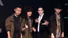 狮子合唱团入围最佳乐团 萧敬腾现场被逼问是否穿内裤