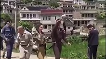 《七十二层奇楼》路透社:猛料!众明星遭捆绑游街呐喊