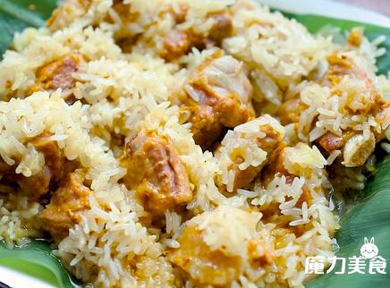 【魔力美食】清香软嫩的糯米排骨,连米饭都不用煮