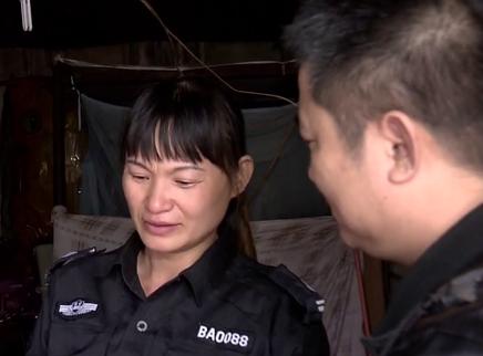 维和女兵和她的保安妈妈