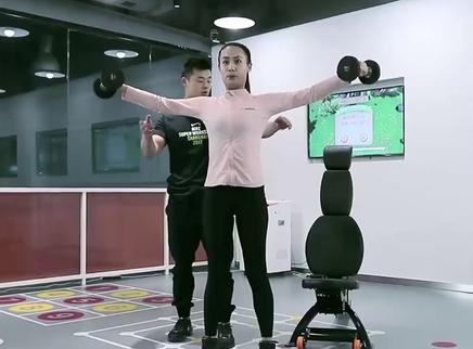【啡哈健身】肩部训练