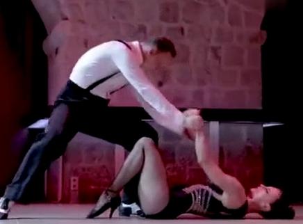 【舞林外传】身体控制的相当棒!拉丁托举舞《甜梦》