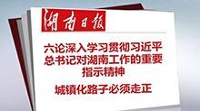 湖南日报:城镇化路子必须走正