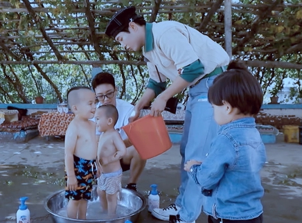 07期:李汶翰暖心给萌娃洗澡