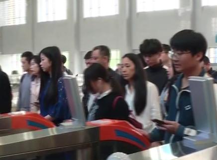 长株潭城铁五一客流猛增54%