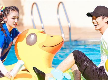 第7期:王凯白宇挑战水上游戏