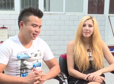 乌克兰美女模特嫁给中国农村小伙