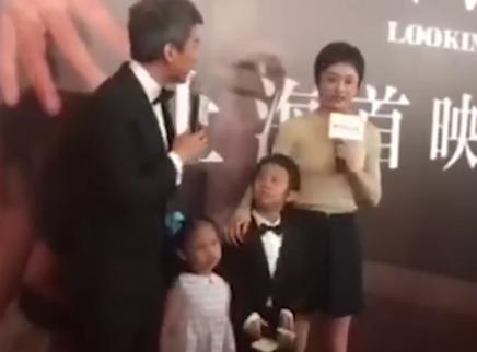 孙俪带女儿参加舞蹈比赛